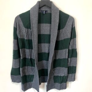 Gap striped cardigan